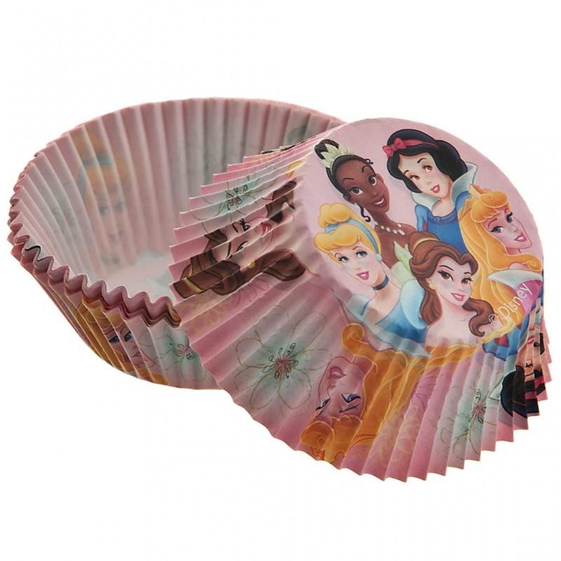Juego de pirutines de papel y pinchos Princesas Disney 48 piezas Wilton