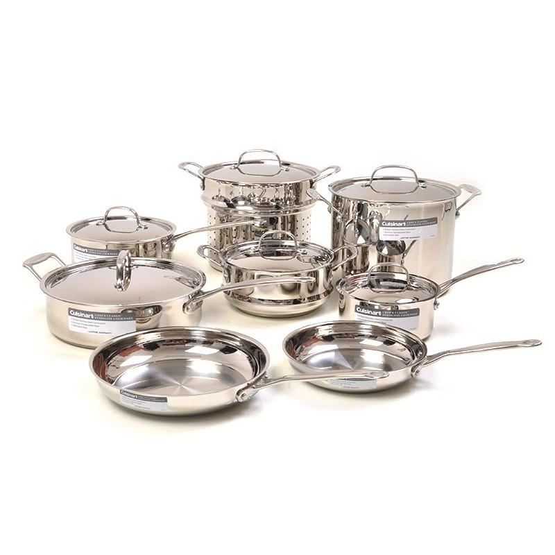 Juego de ollas de 14 piezas Chef´s Classic Cuisinart