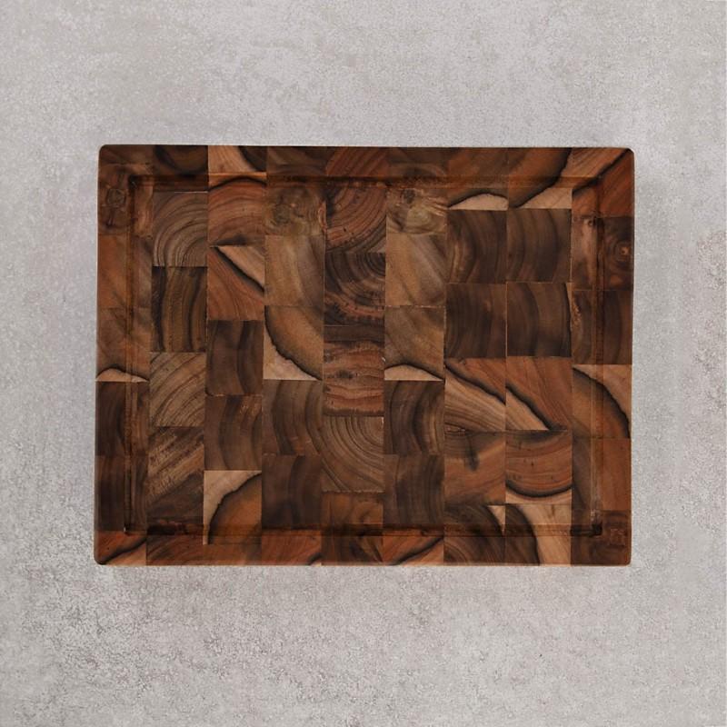 Tabla para picar de madera Chef en Casa