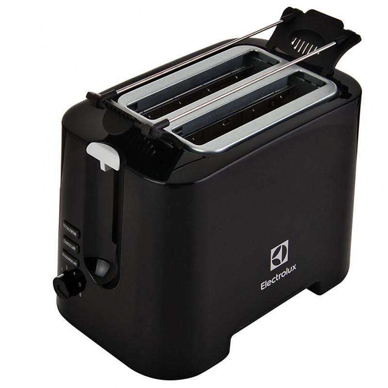 Tostador con 6 niveles de tostado y bandeja para migas 730W TMB21 Electrolux