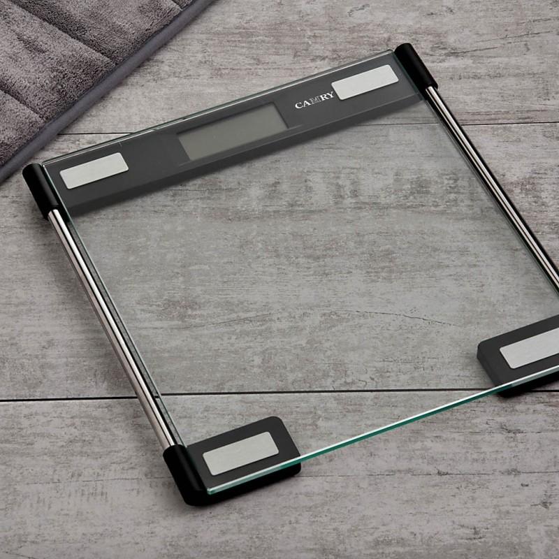 Balanza digital de vidrio para baño Ultra Delgada 4 sensores EB9064 Camry