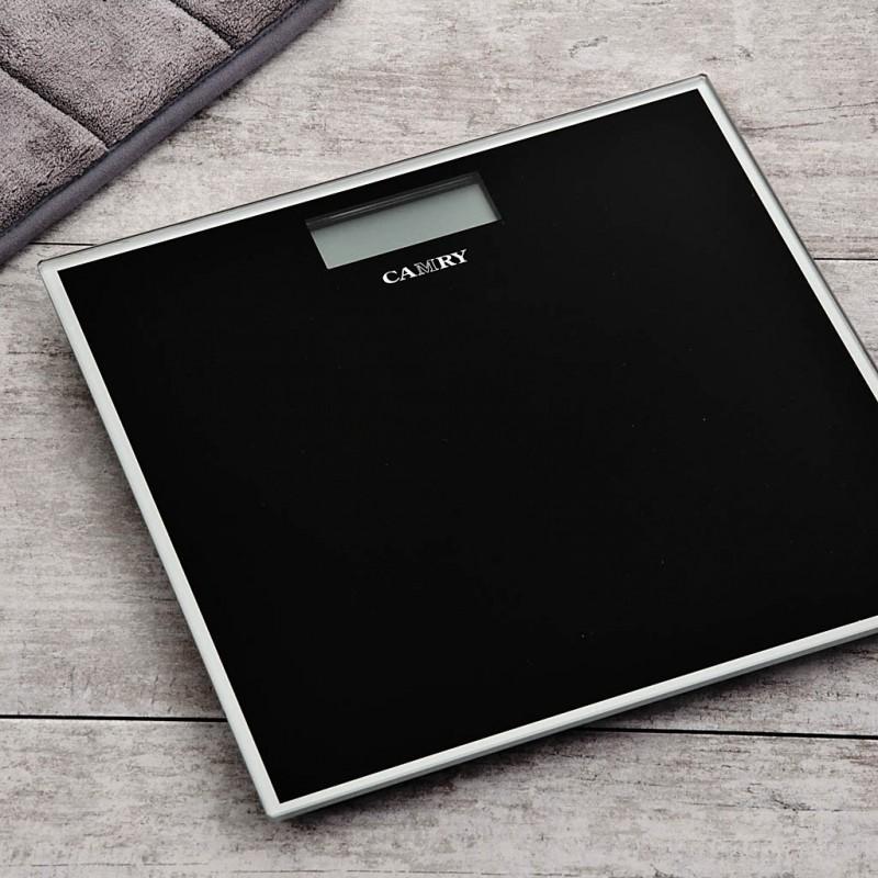Balanza digital para baño con 4 sensores y Autoencedido EB9460 Camry