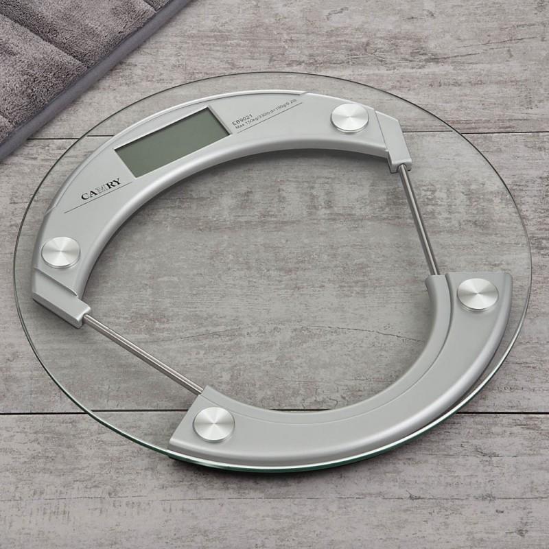 Balanza digital para baño con 4 sensores y Autoencendido EB9021 Camry