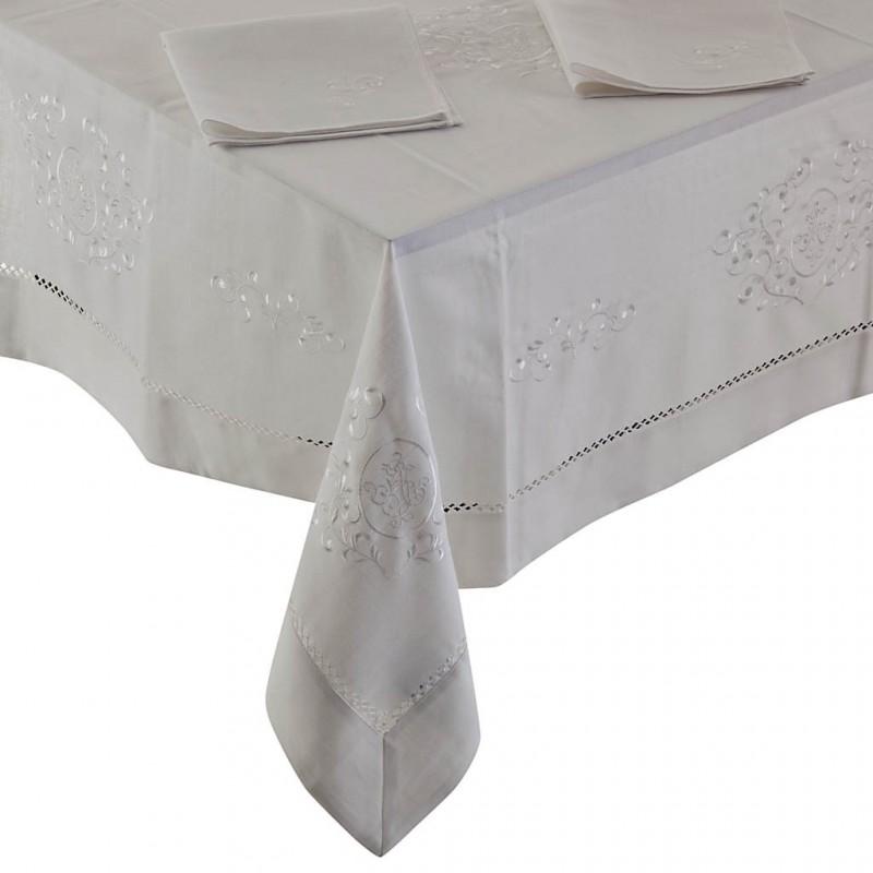 Mantel con servilletas Ramas Arabescas Haus
