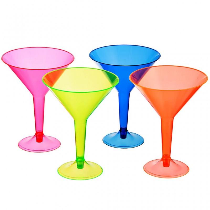 Juego de 4 copas Martini