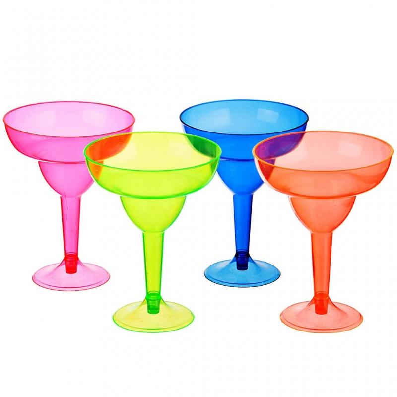 Juego de 4 copas Margarita