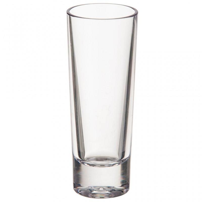 Vaso shot de acrílico Clear