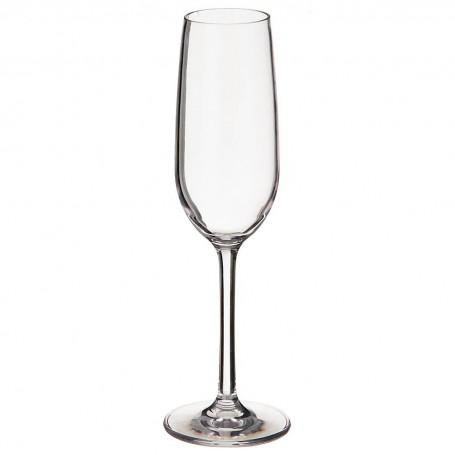 Copa champagne de acrílico Clear