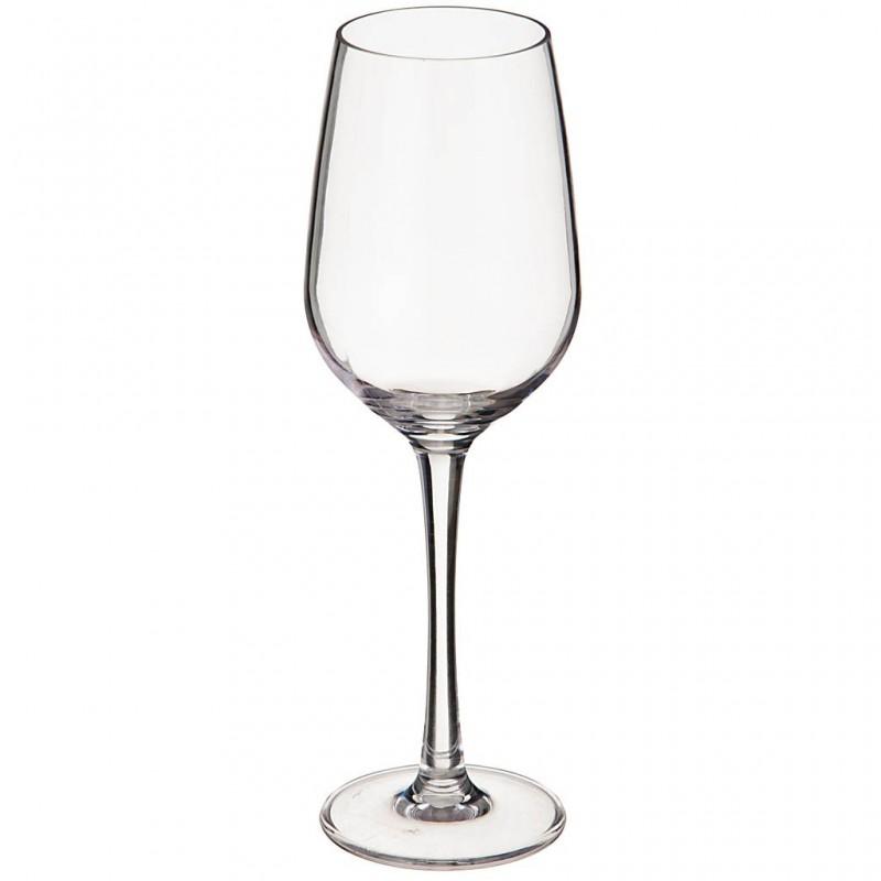 Copa para vino de acrílico Clear