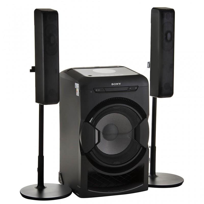 Parlante para fiesta con Bluetooth, Wi-Fi, HDMI, FM y Luz LED 2400W MHC-GT7DW Sony