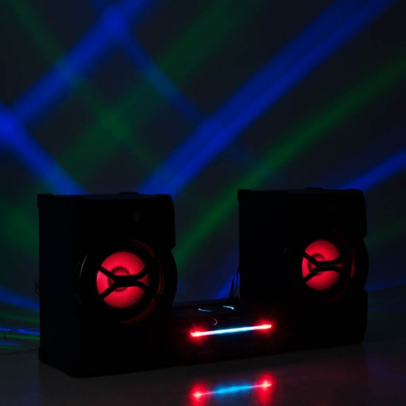 Micro componente con Bluetooth, Radio AM / FM, CD 1200W SHAKE-X3D Sony