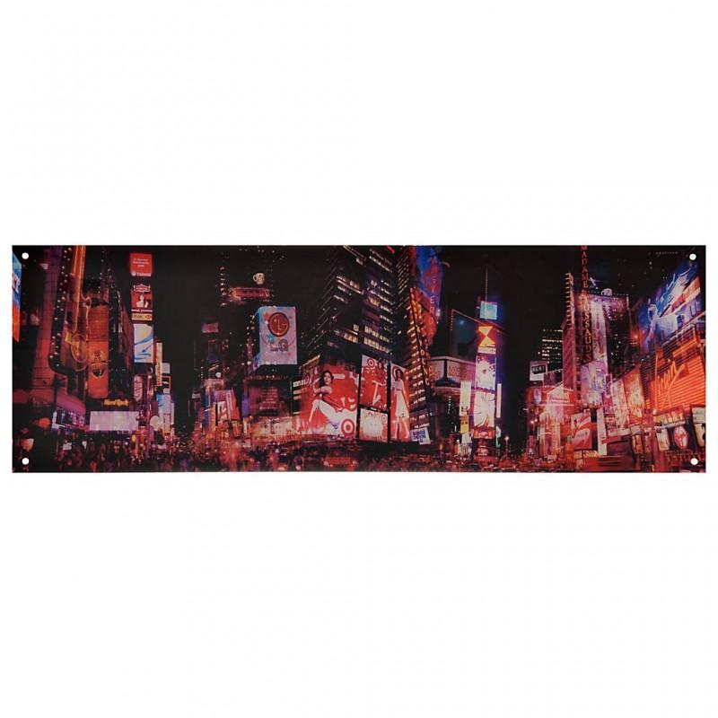 Cuadro de acrílico Times Square 40 x 120 cm