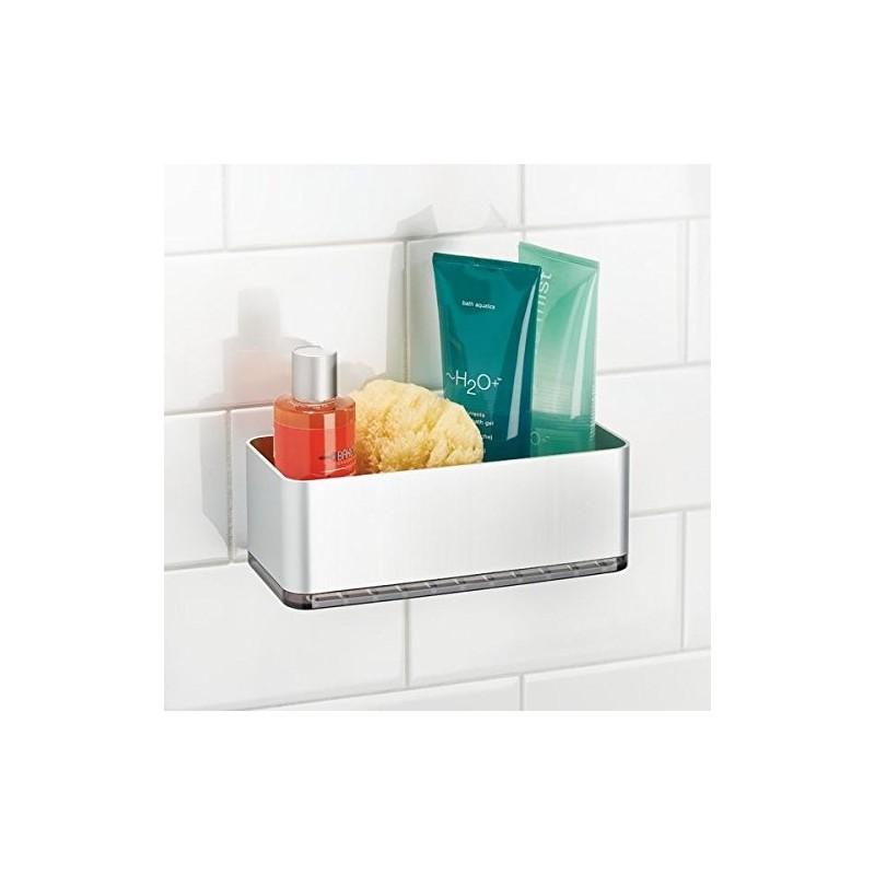Organizador canasta pequeño para ducha AFFIXX Interdesign
