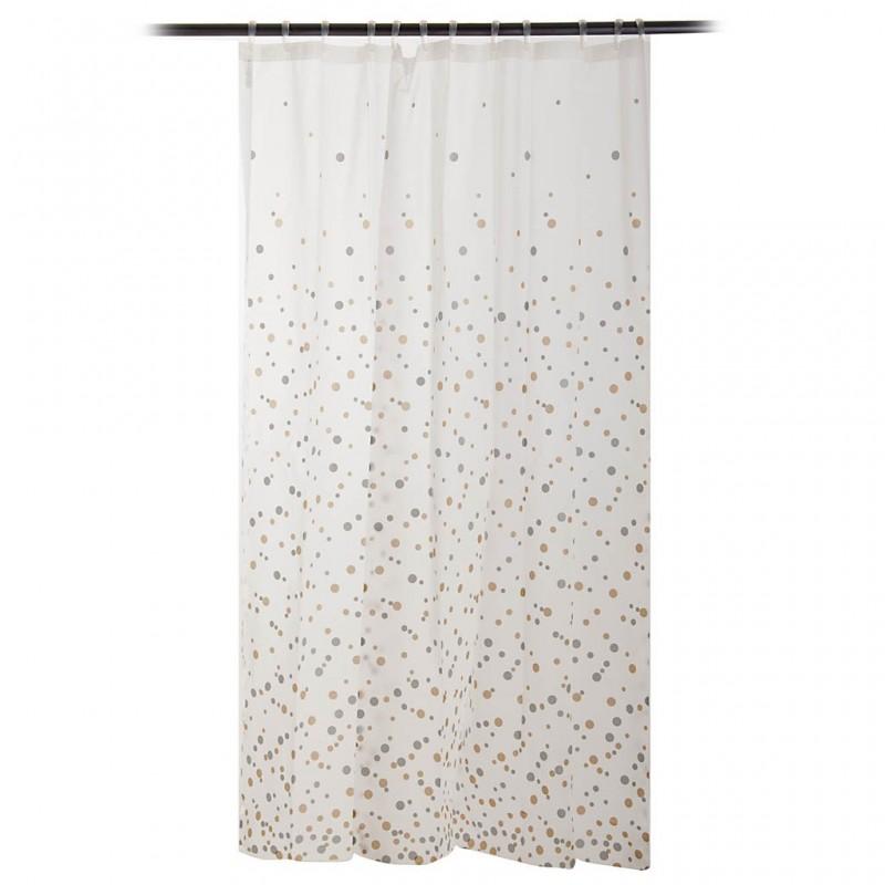 Cortina para baño Confetti 100% PEVA Interdesign